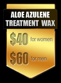 Aloe Azulene wax