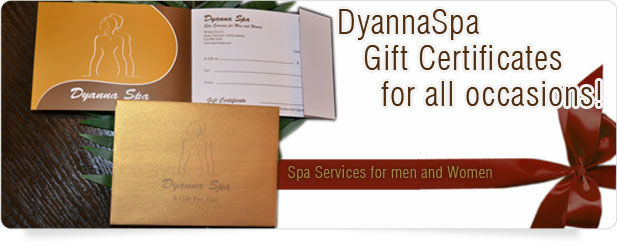 Dyanna Spa Gift Sertificates
